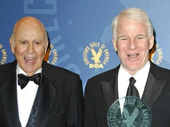 Carl Reiner: Steve Martin trauert um seinen Mentor Carl Reiner
