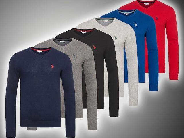 Shopping-Deal mit FOCUS Online - Edle Herrenmode für den Herbst – V-Neck-Herren-Pullover von U.S. POLO ASSN. für nur 38,90 statt 69,95 Euro