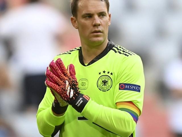 UEFA stellt Überprüfung ein: Neuers Regenbogenbinde als Politikum