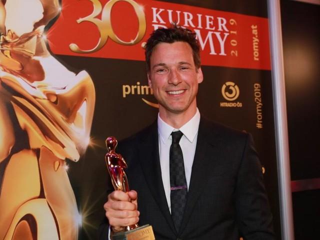 Florian David Fitz, der umschwärmteste Star bei der ROMY-Gala