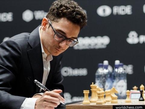 4. Partie in London - Schach-WM: Viertes Remis zwischen Carlsen und Caruana