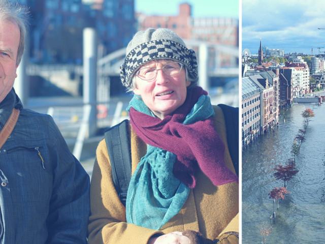 Der Klimawandel bedroht Hamburg – doch Stadtplaner kämpfen dagegen an