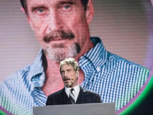 Todesfall: Software-Entwickler McAfee tot in Gefängnis aufgefunden