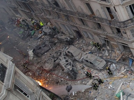 Nach Explosion in Paris weitere Leiche gefunden