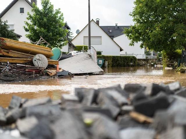 Wetter am Wochenende: Gewittergefahr in westdeutschen Katastrophengebieten