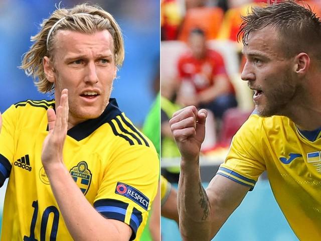 Fussball / EM 2021: Schweden vs. Ukraine: Achtelfinale bei der EM 2021 heute im Liveticker