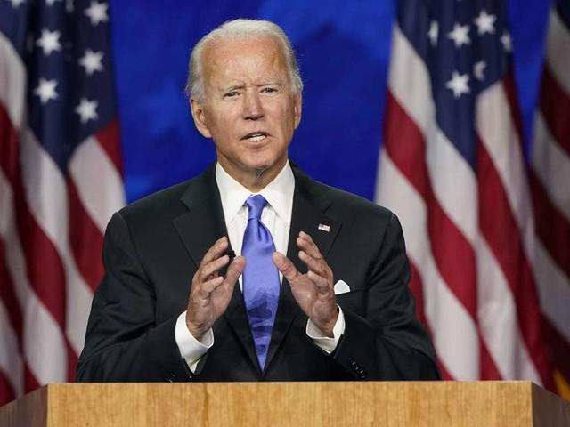 Präsidentschaftskandidat der Demokraten: Joe Biden nimmt Nominierung an und will USA einen