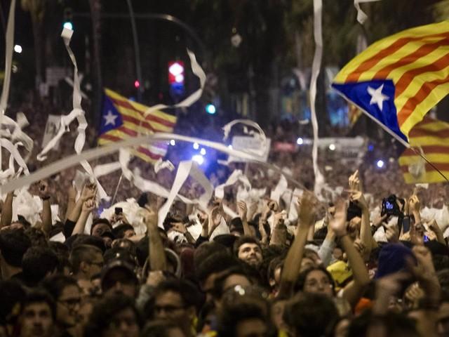 Spanien: Erneut schwere Ausschreitungen in Barcelona