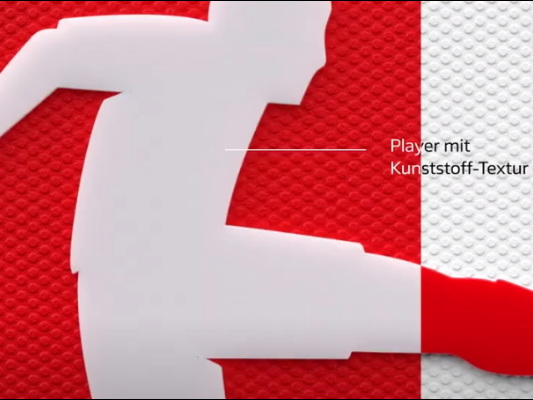 Die DFL befreit den Fußball-Spieler aus dem Logo – ein bisschen jedenfalls.