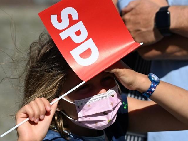 Sechs Wochen vor deutscher Wahl: SPD überholt die Grünen in Umfrage
