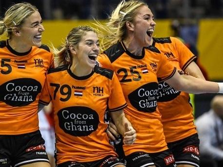 Holländische Handballerinnen: Geschick und Glamour