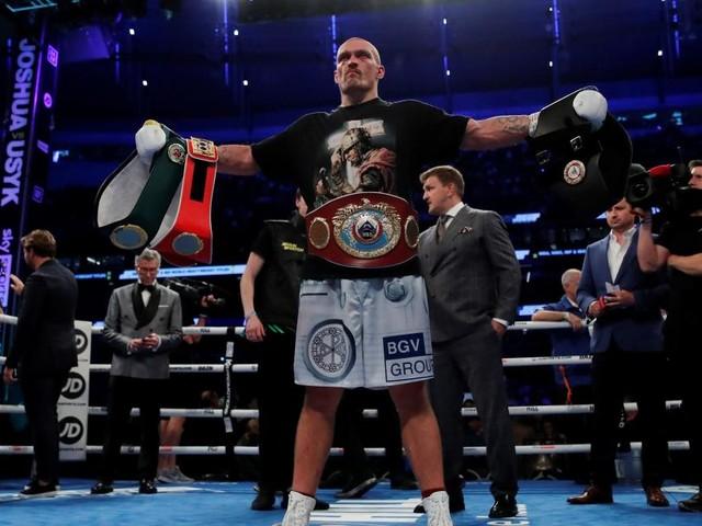Box-Sensation: Joshua verliert gegen Usyk und alle seine Titel