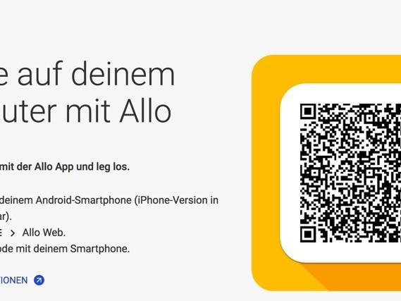 Google Allo: Messenger startet auf dem Desktop