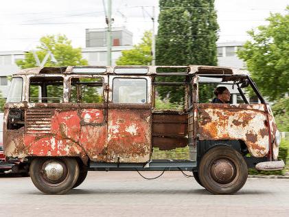 Restaurierung: VW T1 Samba (1951) Der Samba aus dem Nichts