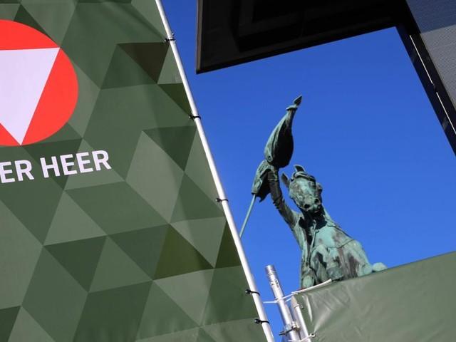Soldat mit rechtem Abzeichen in Bundesheer-Gewinnspiel zu sehen