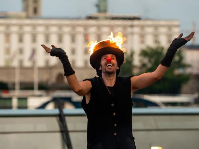 Festival: Am Linzer Pflaster steppt der Clown