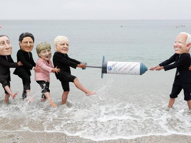 G7-Gipfel in Cornwall: Harte Weltpolitik in netter Umgebung