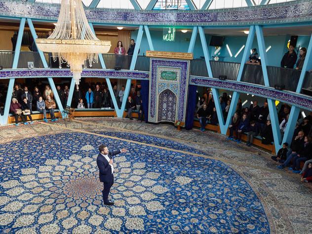 Vorwürfe gegen Blaue Moschee in Hamburg: Außenposten an der Alster