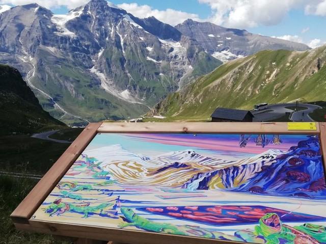 Kunst am Berg: Schöner geht's nicht mehr