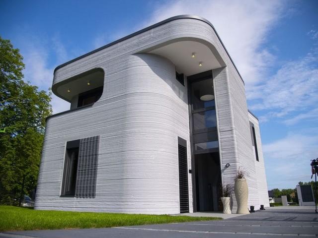 Das Haus der 1000 Rundungen: Beckumer Bau entstand per 3D-Druck