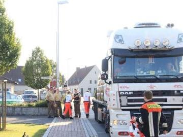 Kreis Bad Kissingen: Unfall in Oerlenbach - Bub (2) wird von Lkw erfasst und schwer verletzt