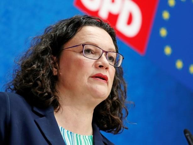 SPD: Nahles kündigt Rücktritt als Partei- und Fraktionschefin an