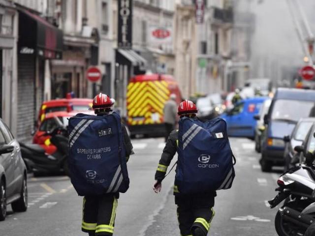 Vier Tote und viele Verletzte bei Explosion in Paris