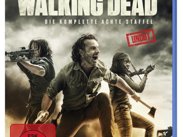 "Gewinnen: ""The Walking Dead""-Fanpaket mit Season 8, Kochbuch und Malbuch"
