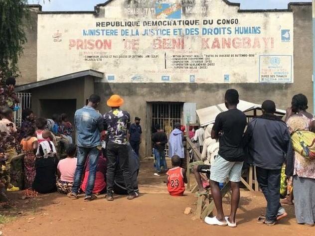 Angriff auf Gefängnis im Kongo: 1.300 Häftlinge hauen ab