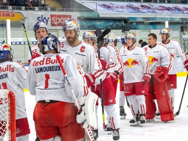 Eishockey: Salzburg nach viertem Sieg vorzeitig im CHL-Achtelfinale