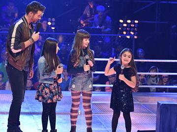 Anisa und Lisa begeisterten in den Voice-Kids-Battles