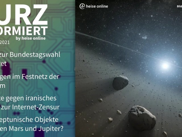 Kurz informiert: Abgeordnetenwatch, Telekom, Iran, Asteroiden