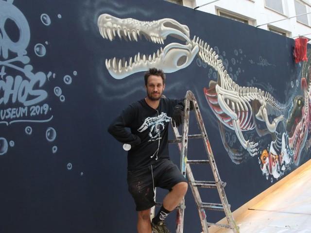 Sprühen vor Glück: Street-Art-Star Nychos kommt ins Museum