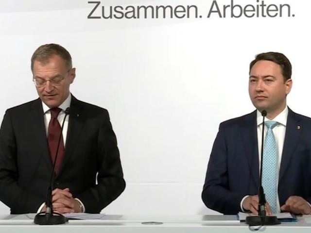 OÖ: Neuauflage von Schwarz-Blau präsentiert Regierungsprogramm