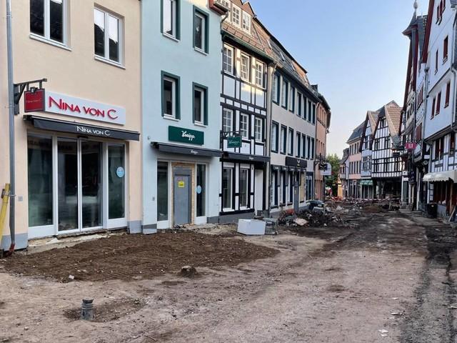 Bundesregierung will Soforthilfe für Hochwasseropfer beschließen – City Outlet Bad Münstereifel plant bald erste Wiedereröffnungen