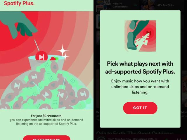 Spotify testet 0,99 Dollar Tarif mit Werbung