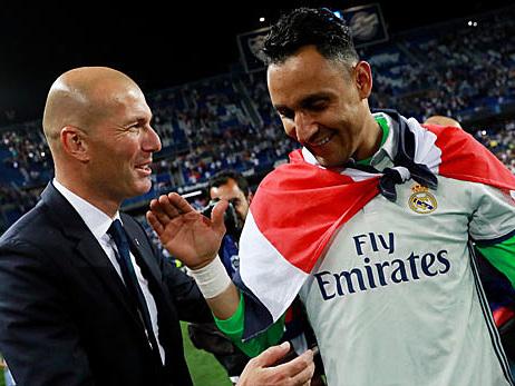 Primera Division: Navas statt Courtois: Zidanes erstes Machtsignal