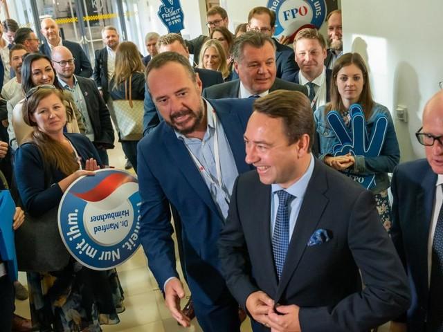 """Gut eingeübte Freude bei der ÖVP in Linz, """"keine Depression"""" bei der FPÖ"""