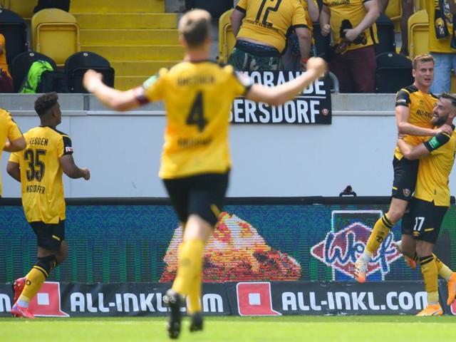 Dresden gewinnt beim Comeback - Rostock verliert unglücklich