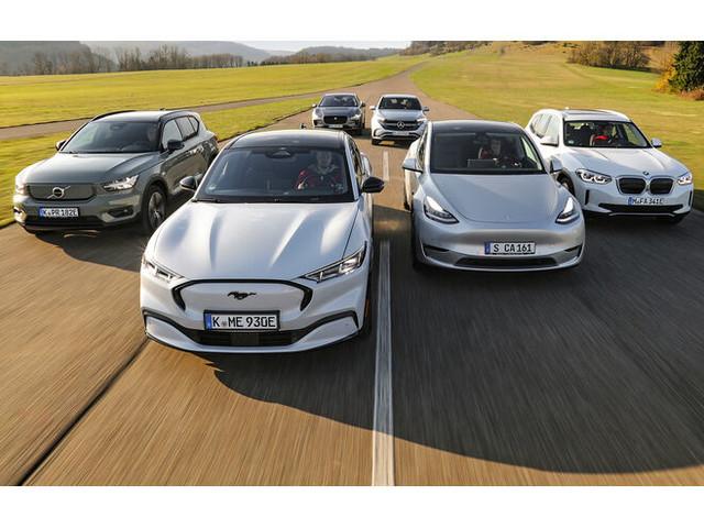 Elektro-SUV im Test: Alle jagen Tesla