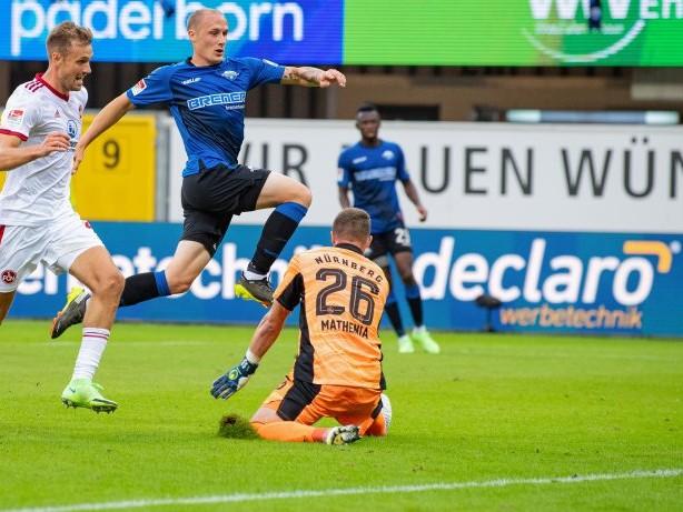 2. Bundesliga: Michel bewahrt Paderborn vor neuer Pleite gegen Nürnberg