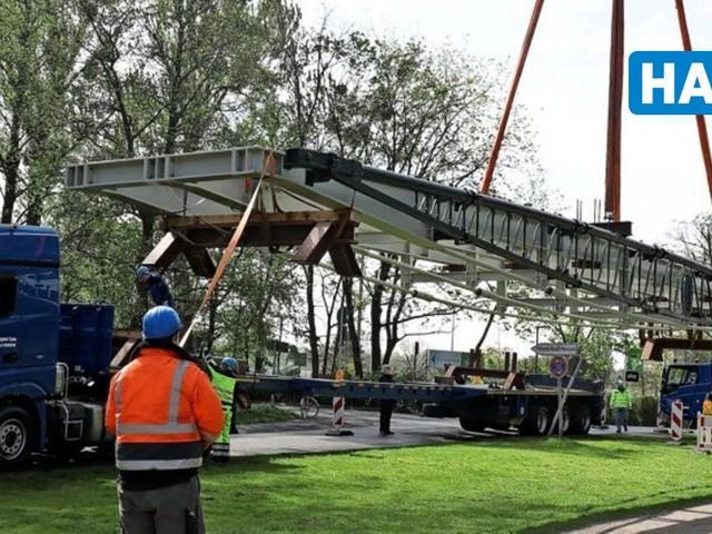Königlich: Friederikenbrücke kehrt nach Sanierung zurück