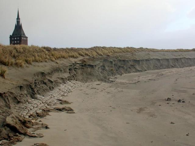 Badestrand auf Wangerooge nahezu vollständig abgetragen