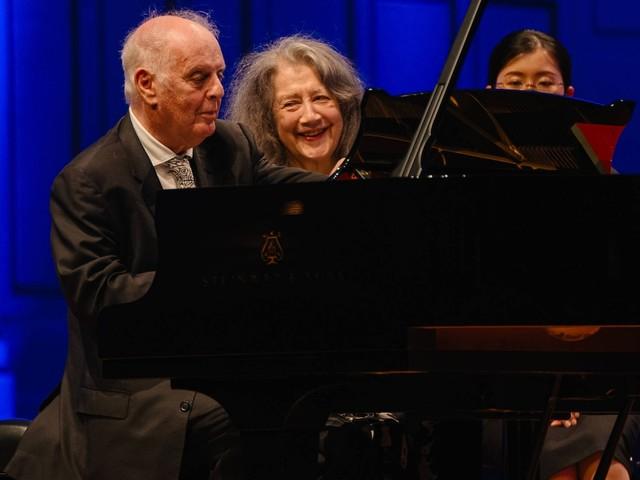 Festival mit Martha Argerich, Daniel Barenboim und Anne-Sophie Mutter in Hamburg