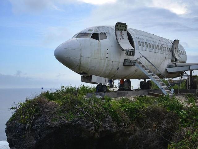 Zukünftiges Flugzeug-Hotel: Dieser ausrangierte Boeing-Jet soll den Tourismus auf Bali ankurbeln