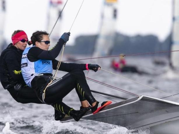 Olympia: Start mit Kollision:Seglerinnen Lutz/Beucke dennoch Siebte