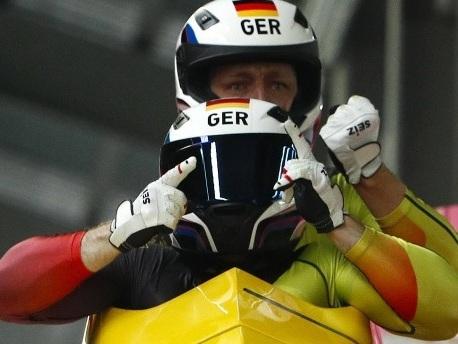Friedrich teilt sich Gold mit Kanadier beim Zweierbob