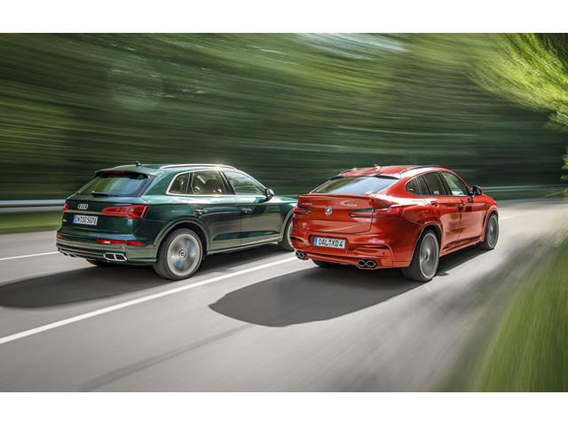 Audi SQ5 gegen Alpina XD4: Premium-SUV mit mächtig Drehmoment im Test