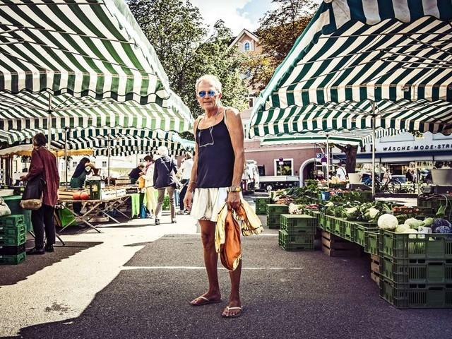 Otmar Eisenberg aus Esslingen: Der Mann im goldenen Rock