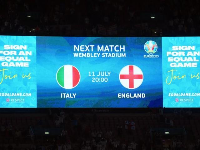 Italien gegen England: Zwei Weltküchen auf dem Spielfeld